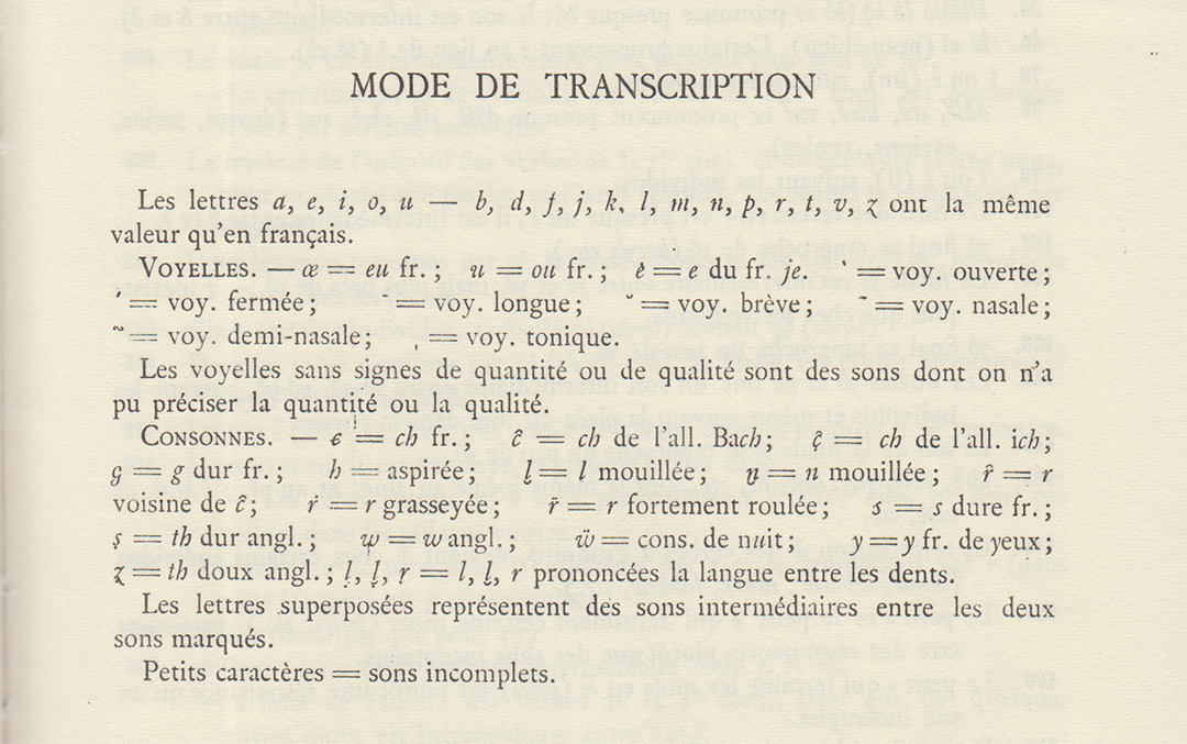 image des modes de transcription